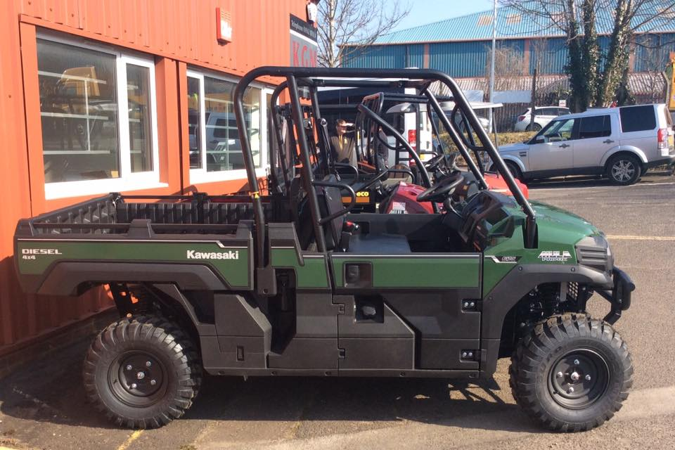 The New Kawasaki Mule DX and DXT Range