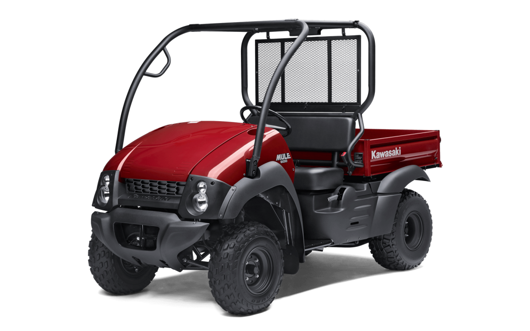 The New Kawasaki Mule 600