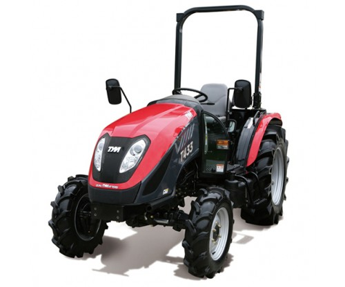 TYM T433 43hp Compact Tractor  (On Turf Tyres and ROPS)