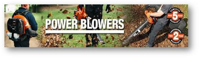 37% Off Backpack Power Blowers
